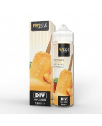 POPSICLE 60ML - PAIGE'S PEACH USA MIX AND VAPE